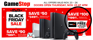GameStop's 2017 Black Friday Ad