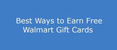 how do i get a free walmart gift card