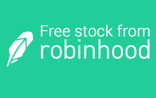 Robinhood's current free stock promotion