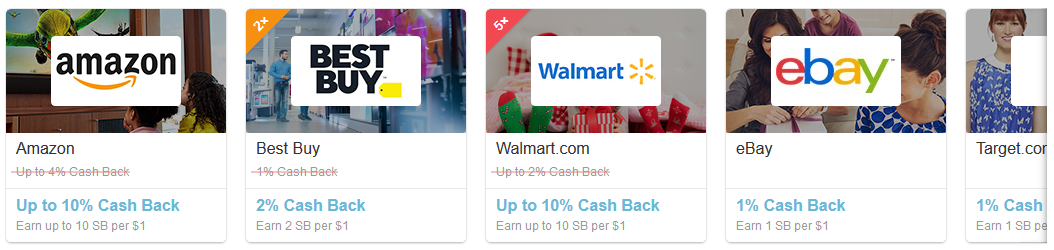 Swagbucks shopping offers